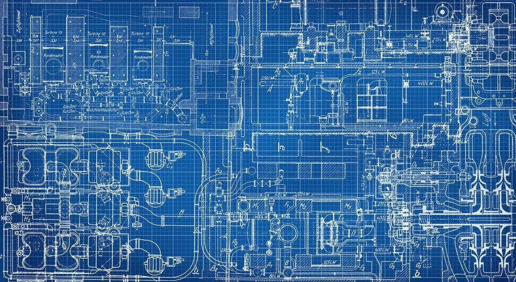 blueprint, technical, drawing